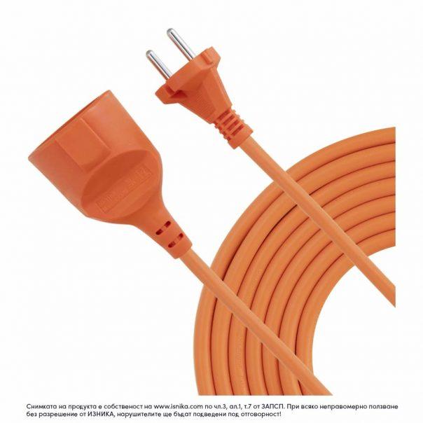 Удължител с дължина 18м с две жила, подходящ за градински инструменти