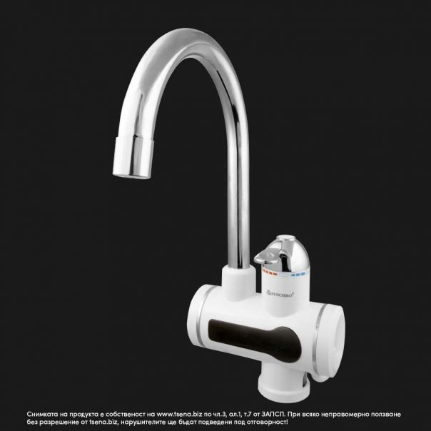 Нагревател за вода, водонагревател, електрически смесител, смесител нагревател, проточен - модел AQN-9E-3T, цена: tsena.biz