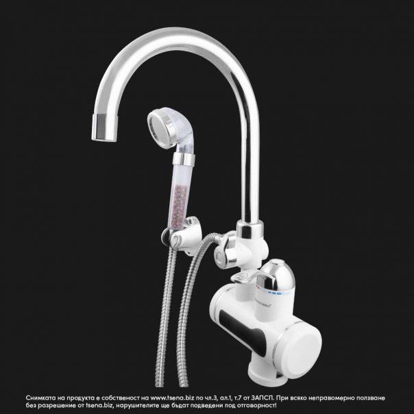 нагревател за вода, водонагревател, електрически смесител, проточен модел SC30H19Sh, цена: tsena.biz