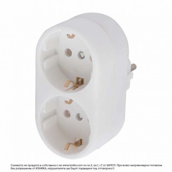 Разклонител без кабел ZD01-02 максимално натоварване 3500W - ф, разклонители