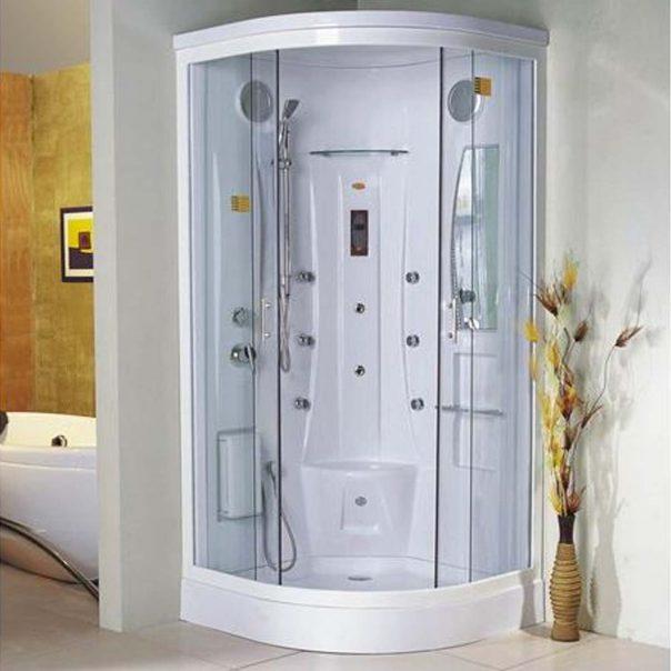 Хидромасажна душ кабина 9010 бяла